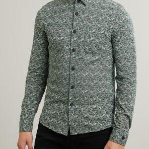 Cast Iron Long Sleeve Shirt Jersey Printed L