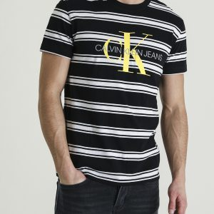 Calvin Klein Monogram Stripe Tee