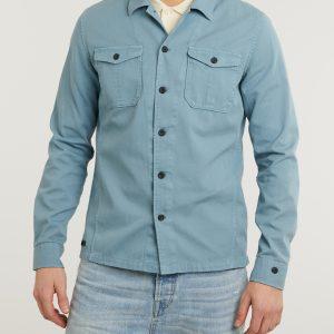 Cast iron Long sleeve shirt cotton twill